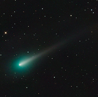 Mount Lemmon Observatory - Comet ISON (C/2012 S1) as seen on October 8, 2013 with the Schulman Telescope (recorded with STX-16803 CCD camera)