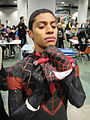 Comikaze Expo 2011 - Miles Morales, the new Ultimate Spider-Man (6324615935).jpg