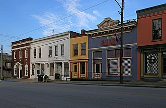 Millersburg, Kentucky - Image: Commercial Buildings — Millersburg, Kentucky