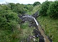 Commondyke railway station view towards Lugar, Near Auchinleck, East Ayrshire, Scotland.jpg