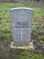 Commonwealth War Grave in Jarrow Cemetery (WW1-05) - geograph.org.uk - 1603354.jpg