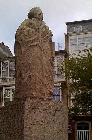 Concepción Arenal - Statue to Concepción Arenal in Ferrol (Galicia)