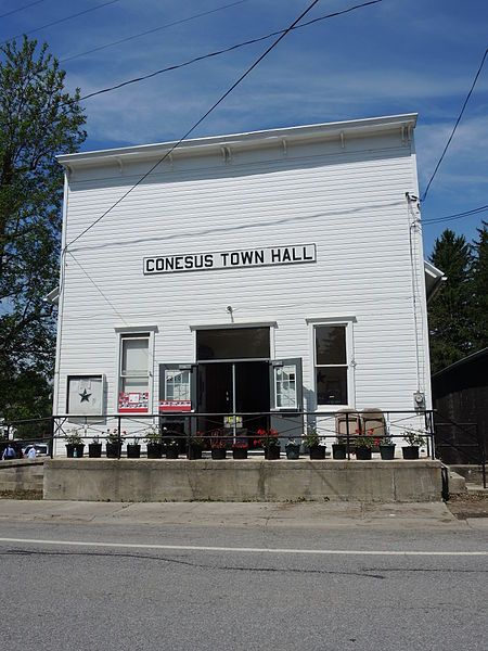 Photo of Conesus Town Hall building