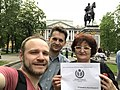 Congratulations to Erzya Wikipedia from St.-Petersburg.jpg