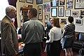 Congressman George Miller meets with Courtney von Savoye and her family (7410201936).jpg