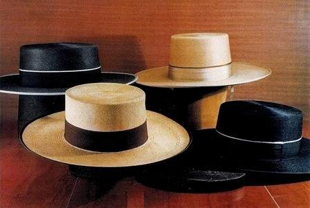 Conjunto sombreros