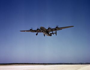 Consolidated C-87 Liberator Express - C-87 Liberator Express takes off from Fort Worth, Texas on a test flight in October 1942.