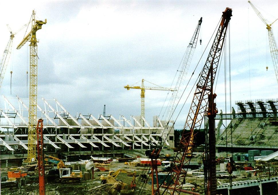 Construction of Millennium Stadium, Cardiff