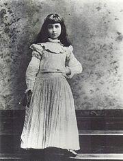 Consuelo Vanderbilt, Young