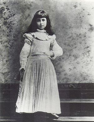 Consuelo Vanderbilt - Consuelo Vanderbilt as a child.