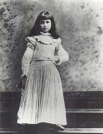 Consuelo Vanderbilt - Consuelo Vanderbilt as a child.
