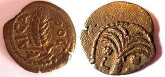 Roman Procurator coinage - Coin of Coponius