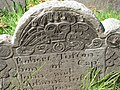 Copp's Hill Burying Ground, Boston - tombstone 1.JPG