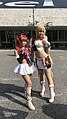 Cosplayers of Tiaris and Liana, Langrisser series 20181216a.jpg