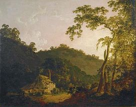 Cottage in Needwood Forest by Joseph Wright.jpg
