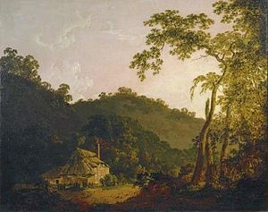 Needwood Forest - Image: Cottage in Needwood Forest by Joseph Wright