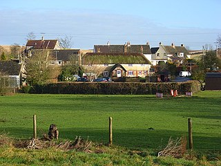 Piddlehinton village in United Kingdom