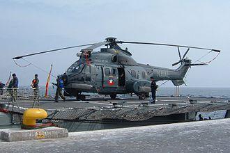 Eurocopter AS532 Cougar - Chilean Navy Cougar – UNITAS 47-06