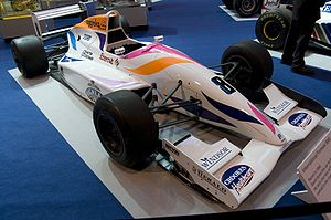 David Coulthard - Coulthard's Formula 3000 car which he drove for Pacific Racing in the 1993 season
