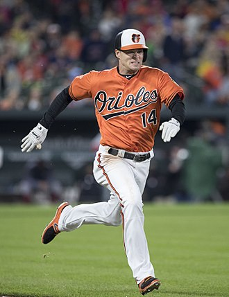 Craig Gentry - Gentry with the Baltimore Orioles