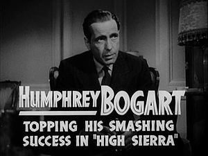 Sam Spade - Humphrey Bogart as Sam Spade in the trailer for The Maltese Falcon