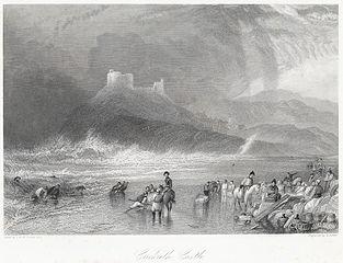 Crickieth i.e Criccieth Castle north Wales