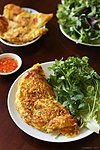 Crispy Vietnamese crepes, banh xeo with vegetables.jpg