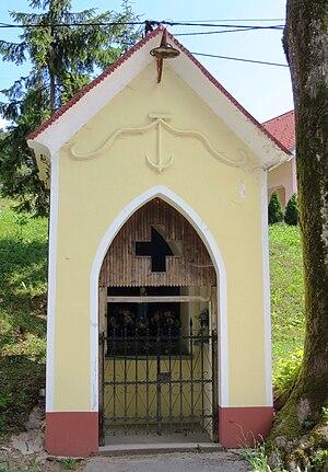 Črni Vrh, Idrija - Image: Crni Vrh Idrija Slovenia Tince shrine