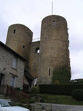Crocq - The castle