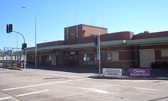 Cronulla railway station - Station front in January 2007