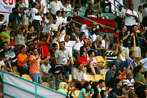 Rugby union in Malaysia - Crowd at the COBRA Rugby Tens