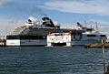 Cruise ship 'Celebrity Constellation' at Belfast -2- - geograph.org.uk - 783517.jpg