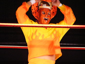 Christopher Daniels - Daniels while playing the Curry Man character