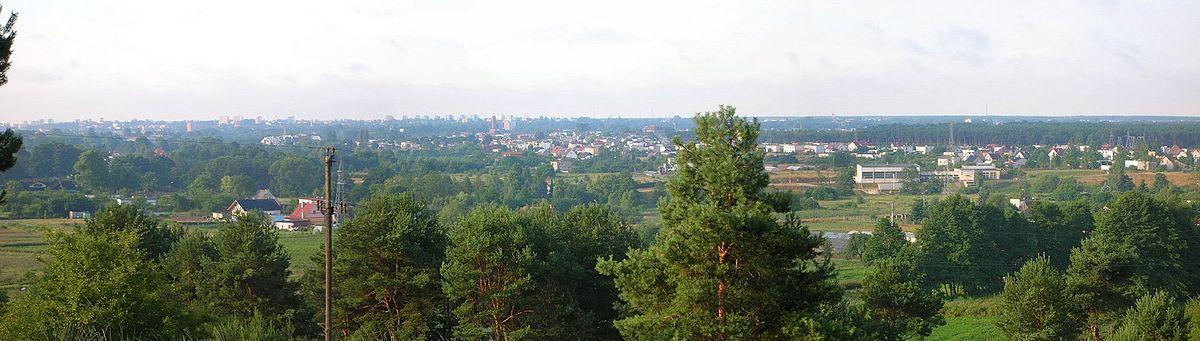 Polski: Osiedle Czyżkówko o zabudowie jednorodzinnej