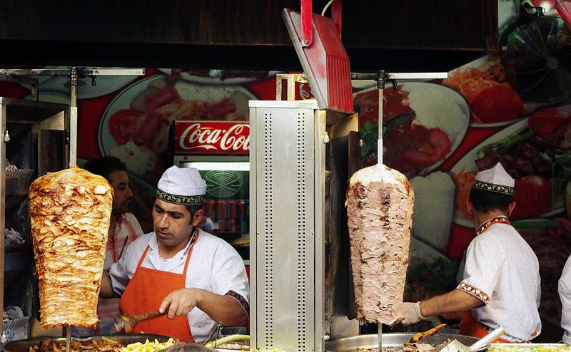 Doner kebab - From Best Street Foods in Istanbul, Turkey