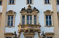 D-5-77-125-90 Ellingen Schloss Residenz Eingangsportal Balkon 006.jpg