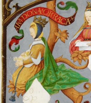 Urraca of Castile, Queen of Portugal