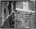 DETAIL OF EAGLE, SOUTHEAST CORNER - U. S. Military Academy, Administration Building, West Point, Orange County, NY HABS NY,36-WEPO,1-22-4.tif