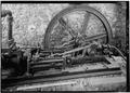 DETAIL OF HORIZONTAL STEAM ENGINE, LOOKING SOUTH - Estate Reef Bay, Sugar Factory, Reef Bay, St. John, VI HAER VI,2-REBA,1C-29.tif