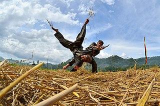 Pencak silat Indonesian martial art