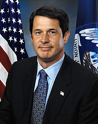 Portrait officiel de David Vitter.