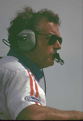 Dale Inman - Inman in the pits