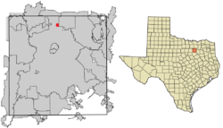 Location of Alpha, Texas