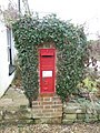 Damerham, postbox No. SP6 216, South End - geograph.org.uk - 1163972.jpg