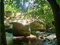 Dampsmesnil (27), hameau d'Aveny, pont d'Aveny sur l'Epte 02.jpg
