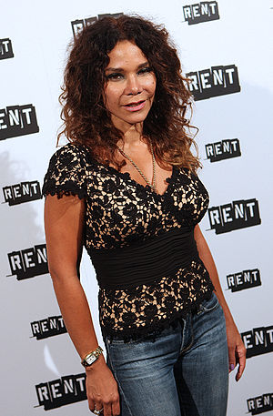 Daphne Rubin-Vega - Rubin-Vega attending the Broadway final performance of Rent