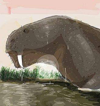 1934 in paleontology - Daptocephalus