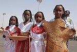 Darfuri girls welcome (8330684240).jpg