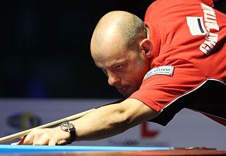 Darren Appleton - Appleton at the World 9-Ball Pool Championship in Doha, 2012