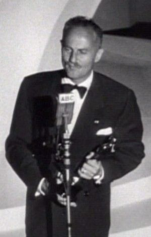 Cropped screenshot of American film producer D...